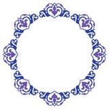 Projeto decorativo do círculo Imagens de Stock Royalty Free