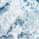 Projeto decorativo do mármore do misturador dos azul-céu e do branco foto de stock