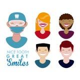 Projeto dental Imagens de Stock