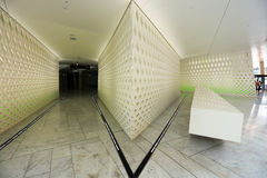 Projeto dentro do teatro da ópera Imagem de Stock