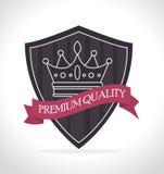Projeto digital da coroa Imagem de Stock Royalty Free