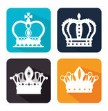 Projeto digital da coroa Imagens de Stock Royalty Free
