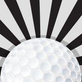 Projeto do ícone da bola de golfe Foto de Stock Royalty Free