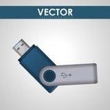 Projeto do ícone da tecnologia Fotografia de Stock