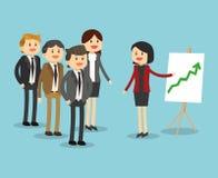 Projeto do ícone dos empresários Imagens de Stock