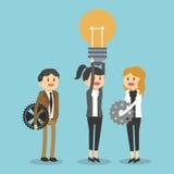 Projeto do ícone dos empresários Fotos de Stock