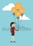 Projeto do ícone dos empresários Imagem de Stock