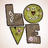 Projeto do amor Fotos de Stock