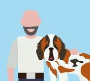 Projeto do amor dos animais de estimação Foto de Stock Royalty Free
