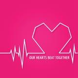 Projeto do amor para o dia de Valentim Fotografia de Stock Royalty Free