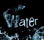 Projeto do Aqua Imagens de Stock Royalty Free