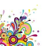 Projeto do arco-íris Fotos de Stock