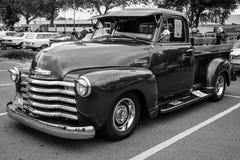 Projeto do avanço de Chevrolet do camionete (3100), 1948 fotos de stock