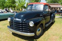 Projeto do avanço de Chevrolet do camionete fotografia de stock