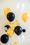 Projeto do balão para a festa de anos imagens de stock royalty free