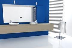 Projeto do banheiro Imagens de Stock Royalty Free