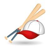 Projeto do basebol, esporte e ilustração das fontes Foto de Stock Royalty Free