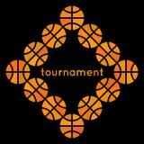 Projeto 2 do basquetebol Imagens de Stock Royalty Free
