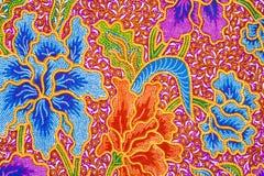 Projeto do Batik Foto de Stock