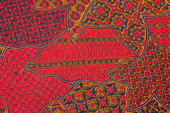 Projeto do Batik imagens de stock