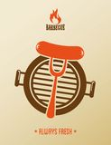 Projeto do BBQ Imagem de Stock Royalty Free