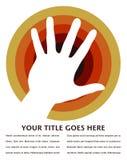 Projeto do círculo da mão. Imagens de Stock