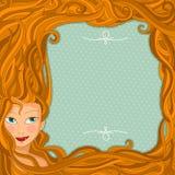 Projeto do cabelo Imagens de Stock