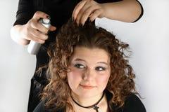 Projeto do cabelo Foto de Stock Royalty Free