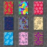Projeto do caderno, teste padrão do papel de parede Ilustração Royalty Free