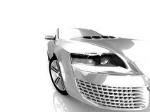 Projeto do carro Fotos de Stock Royalty Free