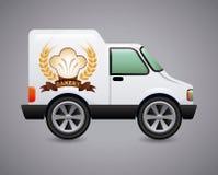 Projeto do carro da padaria Imagens de Stock Royalty Free