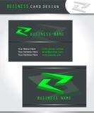 Projeto do cartão Fotografia de Stock