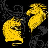 Projeto do cavalo - ilustração Imagens de Stock