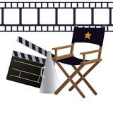 Projeto do cinema Foto de Stock