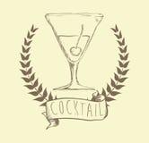 Projeto do cocktail Foto de Stock Royalty Free