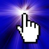 Projeto do cursor Fotografia de Stock Royalty Free