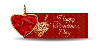 Projeto do dia de Valentim Foto de Stock Royalty Free