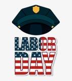 Projeto do Dia do Trabalhador Imagens de Stock