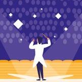 Projeto do diretor de Opera ilustração royalty free