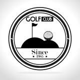Projeto do esporte do golfe Foto de Stock Royalty Free