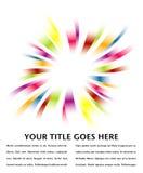 Projeto do estouro do arco-íris. Fotos de Stock