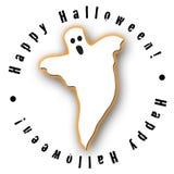 Projeto do fantasma de Halloween Ilustração Stock
