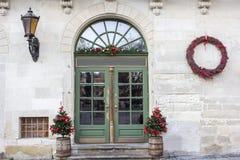 Projeto do feriado da véspera do Natal e de ano novo Fotografia de Stock Royalty Free