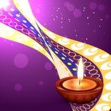 Projeto do festival de Diwali ilustração royalty free