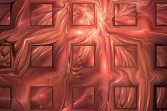 Projeto do fractal da fantasia Imagem de Stock Royalty Free