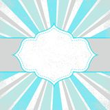 Projeto do frame do molde para o cartão Imagem de Stock Royalty Free