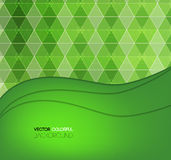 Projeto do fundo, contexto verde abstrato Ilustração Royalty Free