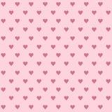Projeto do fundo do coração do molde do convite para a matéria têxtil, Greetin Imagens de Stock Royalty Free