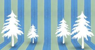 Projeto do fundo da árvore de Natal Imagem de Stock Royalty Free