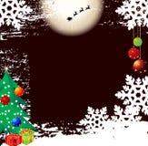 Projeto do fundo do Natal Fotos de Stock Royalty Free